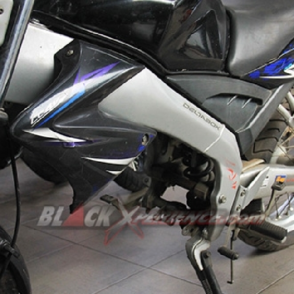 Caos Custom Bike Sajikan Proses Modifikasi Supermoto Urban