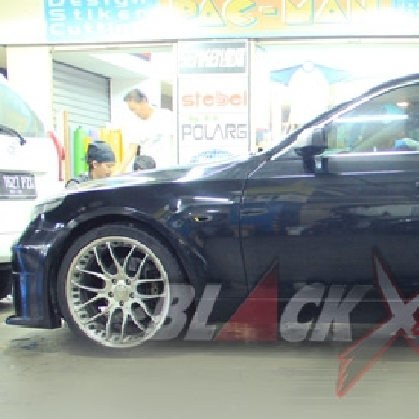Pacman Targetkan Eksterior BMW E60 untuk di Make Over