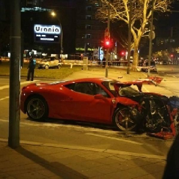 Mungkin Ini Kecelakaan Pertama yang Melibatkan New Ferrari 458 Speciale