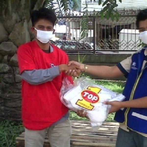 Pasca Letusan Kelud, Relawan TOP 1 Peduli Bagikan 9.000 Masker