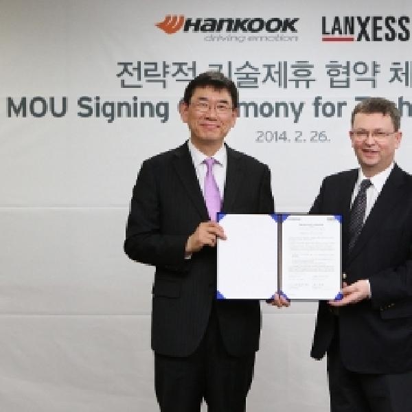 Hankook Tire Jalin Kerjasama dengan LANXESS