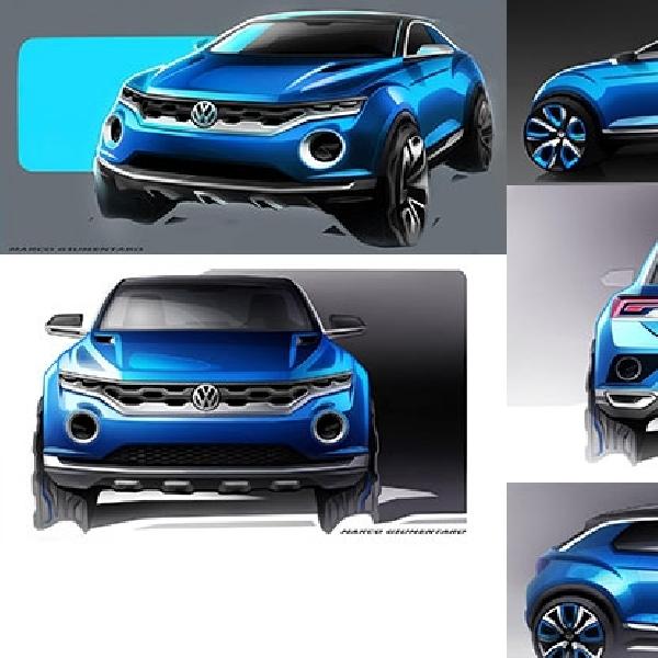 Volkswagen Siap Hadirkan T-ROC Konsep di Geneva Motor Show