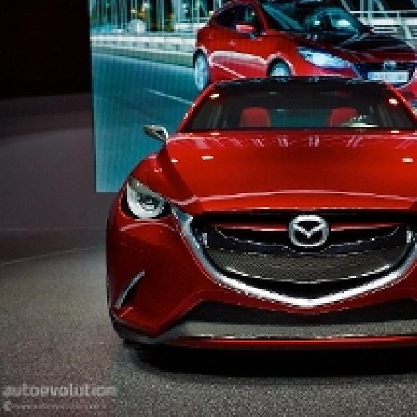 Wujud Asli Mazda Hazumi di Geneva Motor Show 2014