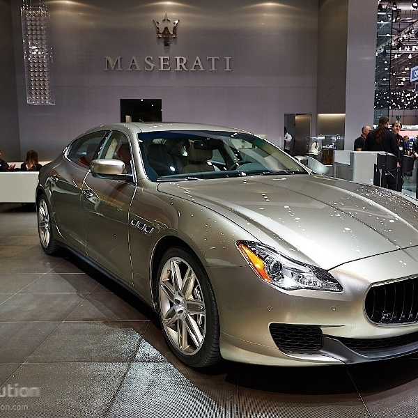 Maserati Ungkap Quattroporte Zegna di Geneva Motor Show