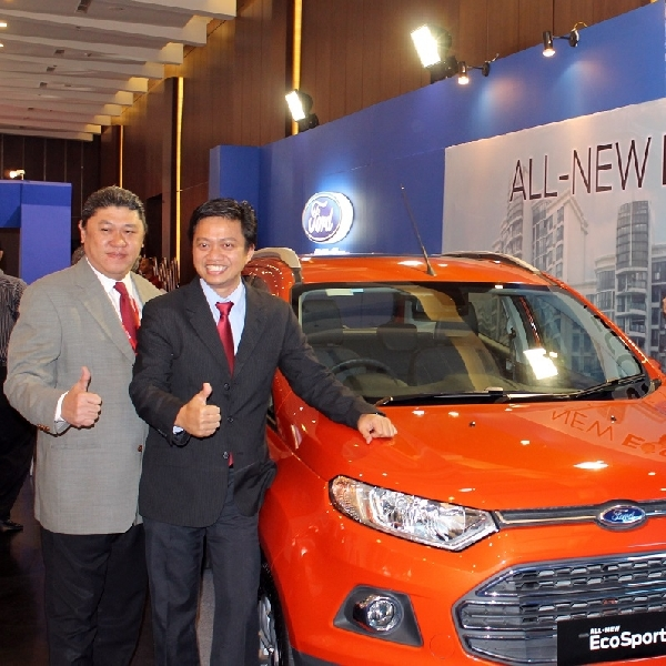 Ford Boyong All New Ford Ecosport di Pameran Otomotif Medan 2014