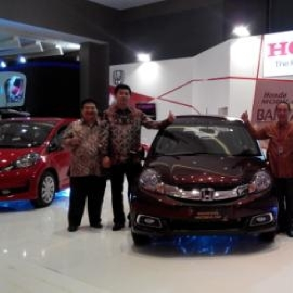 Di POM 2014 Honda Menampilkan Produk Andalan