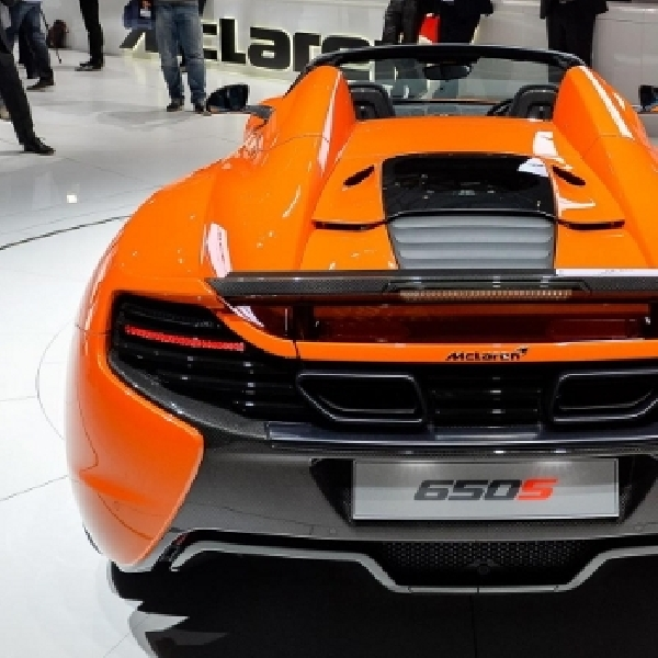 McLaren 650S Spider Unjuk Gigi di Geneva Motor Show
