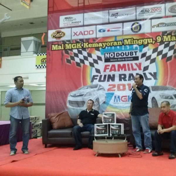 No Doubt Gandeng Tiga Komunitas Gelar Fun Rally