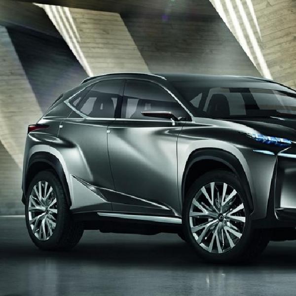 Lexus Siapkan NF-NX Untuk Debut di Beijing