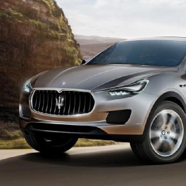 Tahun Depan Maserati Siap Produksi SUV Levante