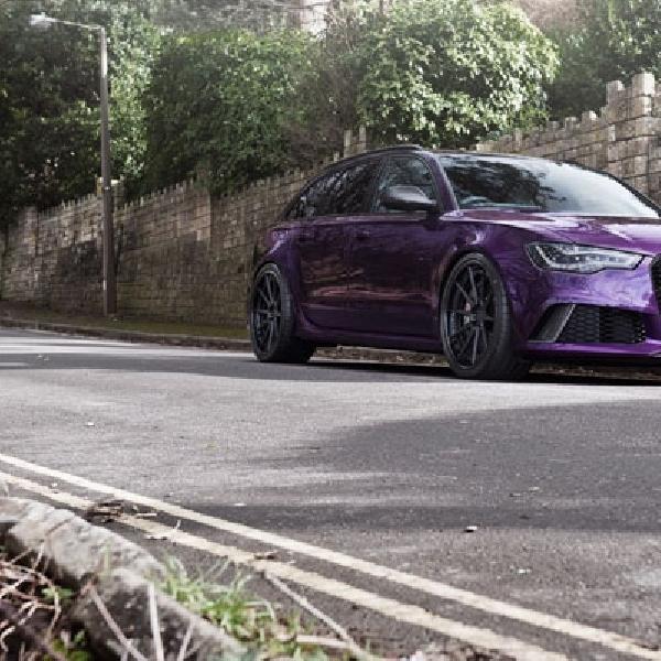 Berlapis Kelir Purple, Audi RS6 Avant Ini Tampil Menggoda