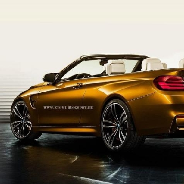 BMW M4 Convertible 2015 Akan Muncul di New York Auto Show