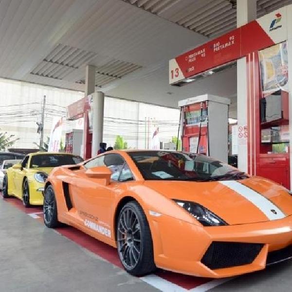 Pakai Pertamax Racing, Komunitas Speedgonz Club Touring Ke Bandung