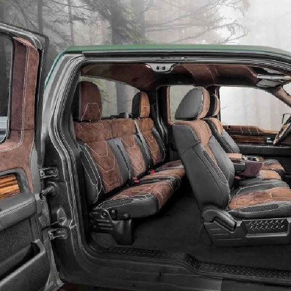 Rombakan Carlex Design Dalam Kabin Ford F-150