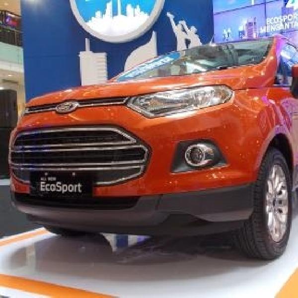 Ford Turut Hadirkan All New EcoSport di Bangkok Motor Show 2014