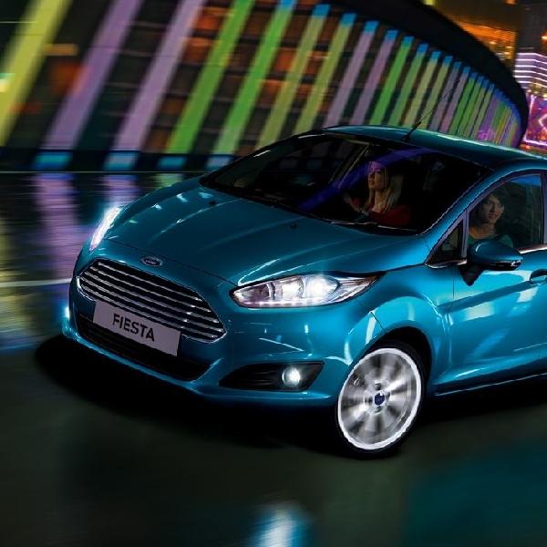 New Ford Fiesta Juga Ikut Nongkrong di Bangkok Motor Show 2014