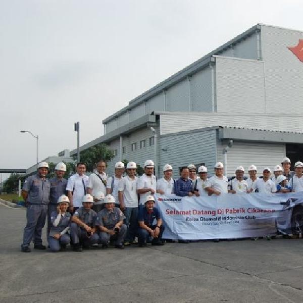 Pabrik Hankook Tire Indonesia Kedatangan Komunitas Korea Otomotif Indonesia