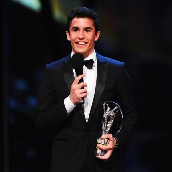 Marc Marquez Meraih Penghargaan Laureus Breakthrough Award