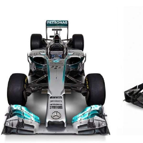 Ragam Bentuk Mobil F1 2014
