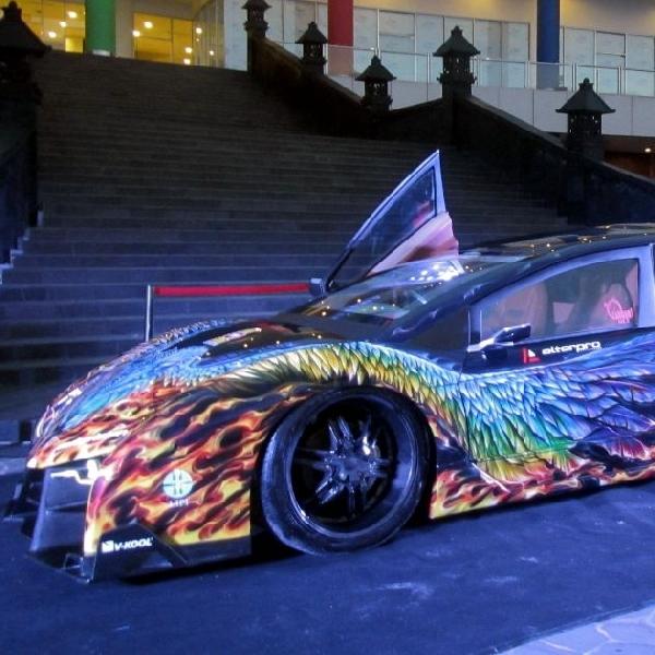 Andre Mengaku Senang Mobil Konsep MAX-R Raih Rekor MURI