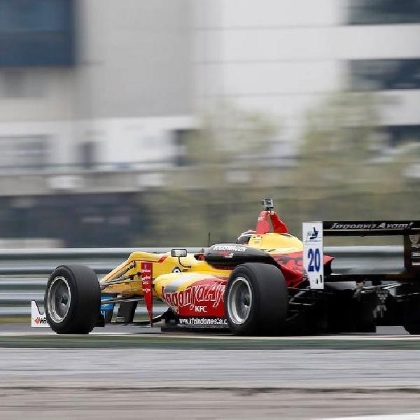 Sean Gelael tampil Positif dalam Test Resmi di Sirkuit Hungaroring