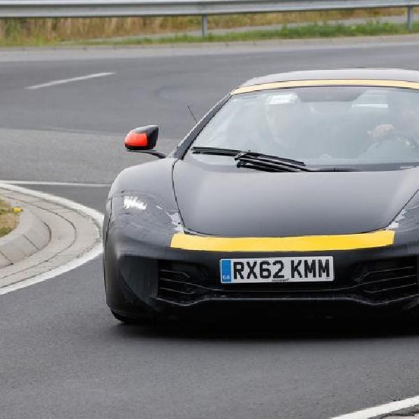 McLaren P13 adopsi Tampang depan, Suspensi dan Panel Body 650S