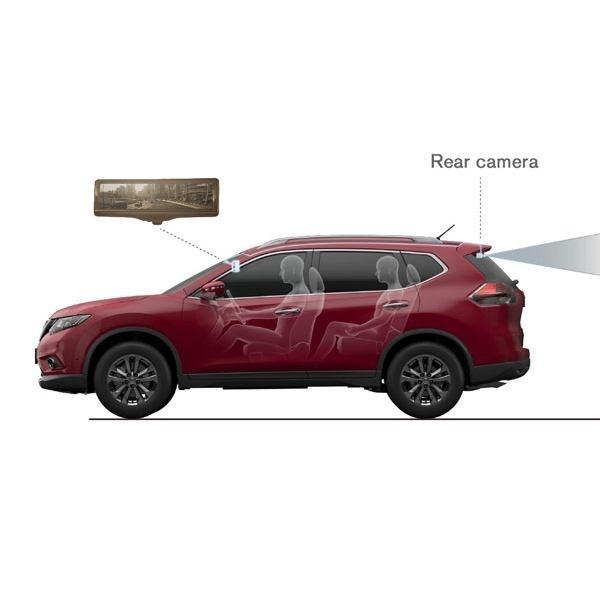 Nissan perkenalkan teknologi Smart Rearview Mirror di New York