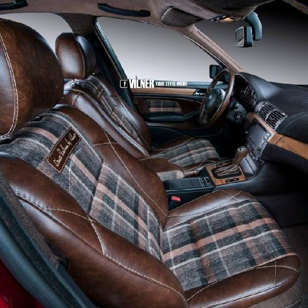Kreasi Vilner di Kabin BMW Seri 3