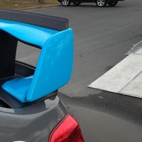 Sayap Belakang model baru Subaru Mengintip jelang New York Auto Show