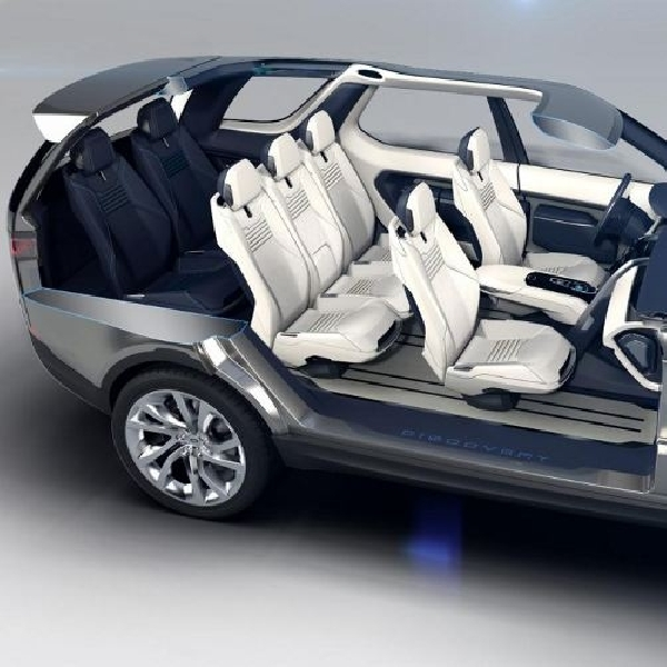 Land Rover ungkap Discovery Vision Concept