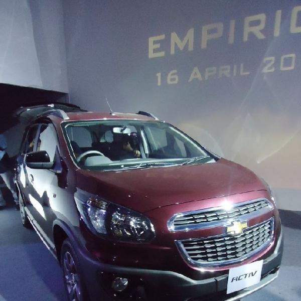 Chevrolet resmi meluncurkan kasta tertinggi Spin berlabel Spin Activ