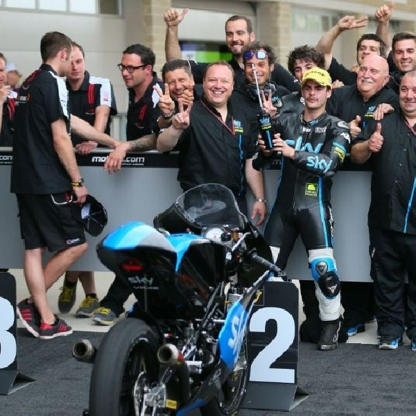 Kemenangan perdana tim balap Rossi