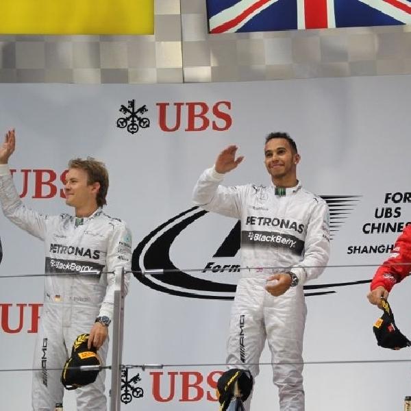 Hamilton kembali rengkuh podium pertama GP F1 Cina 2014
