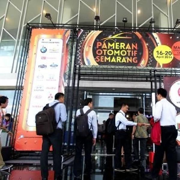 Pameran Otomotif Semarang 2014 resmi ditutup