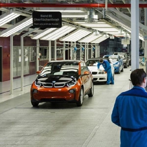 Prinsipal Tingkatkan Kapasitas Produksi BMW i3