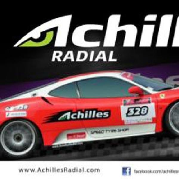 Achilles Jadi Official Tyre di Semua Seri Ferrari F430 Competizione Indonesia