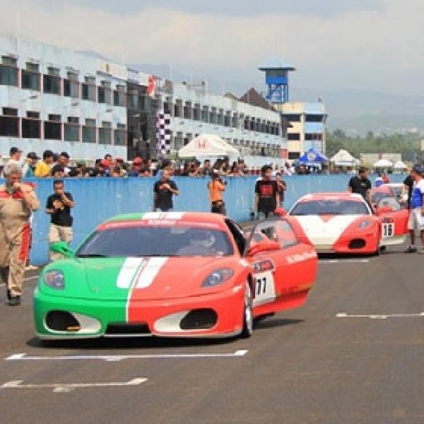 Robin Tato Finis Pertama di Ferrari F430 Competizione
