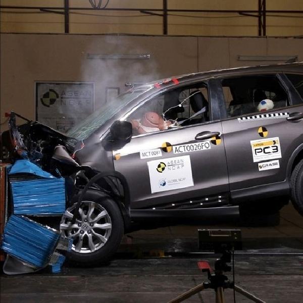 Predikat tingkat keselamatan tertinggi diraih Honda CR-V