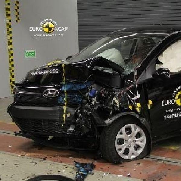 Hyundai i10 raih 4 bintang keselamatan Euro NCAP