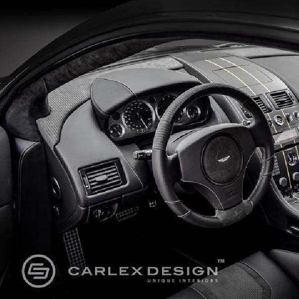Carlex Design tambah sentuhan elegan dalam kabin Aston Martin DB9