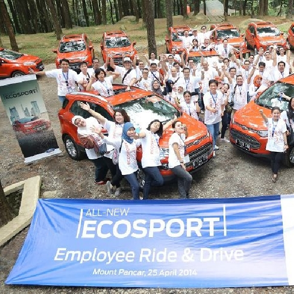 Ford Motor Indonesia ajak karyawannya menikmati All New EcoSport