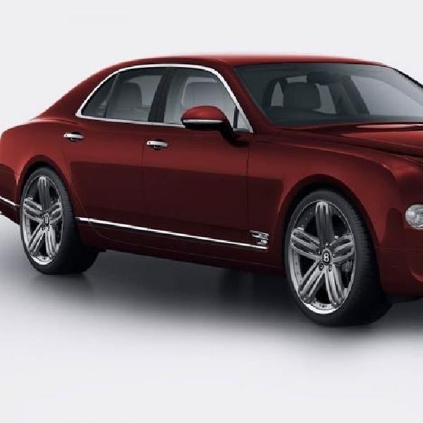Bentley rilis Mulsanne 95 Special Edition