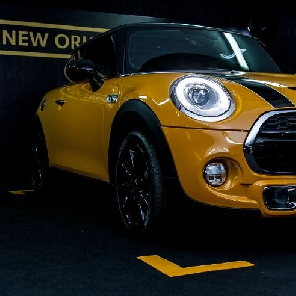 All New MINI sudah terpesan 25 Unit