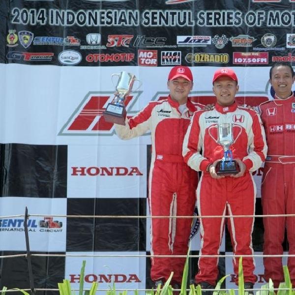 Tim balap Honda dominasi kemenangan di ajang balap nasional