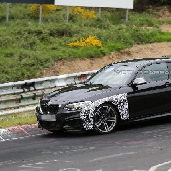 BMW M2 2016 tertangkap kamera test drive di Nurburgring