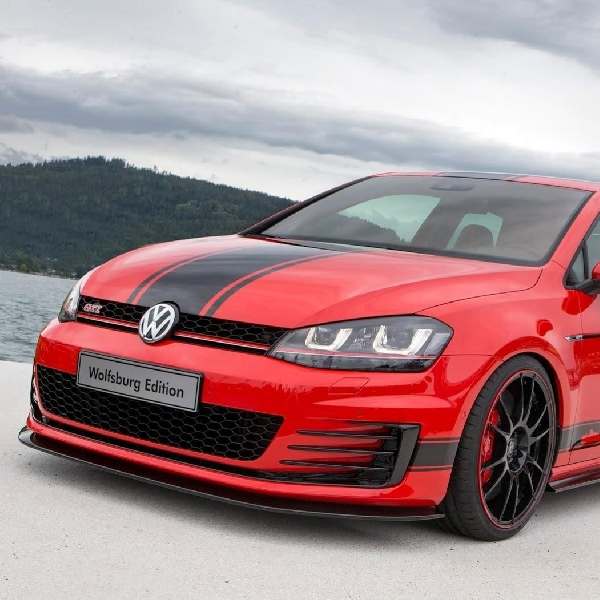 Tim magang VW luncurkan Golf GTI edisi spesial