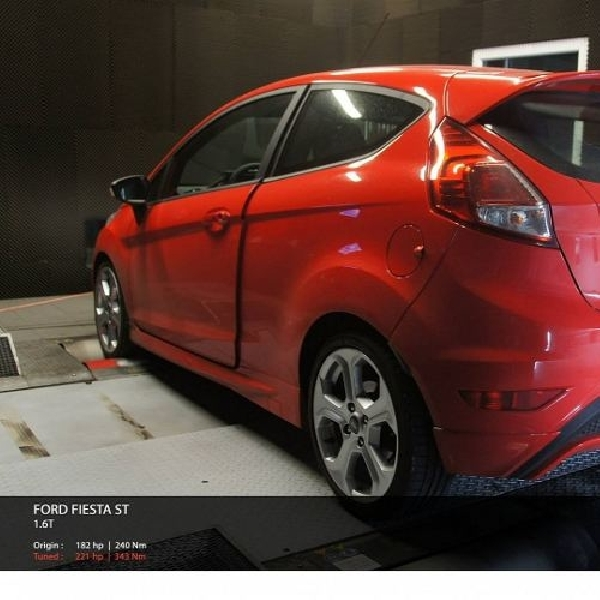 Ford Fiesta ST ShifTech mengamuk semburkan 221 hp