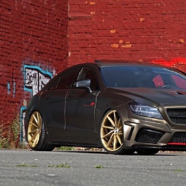 Mercedes ini cium tanah dibedah Fostla
