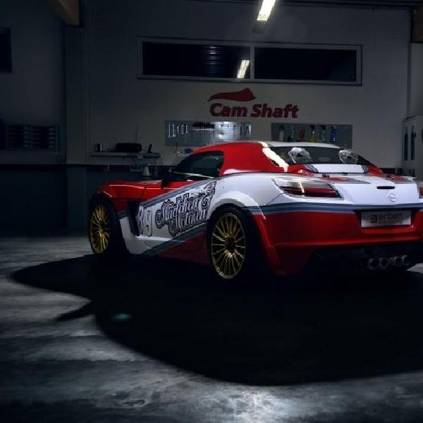 Opel GT balap bermesin LS3 tersingkap
