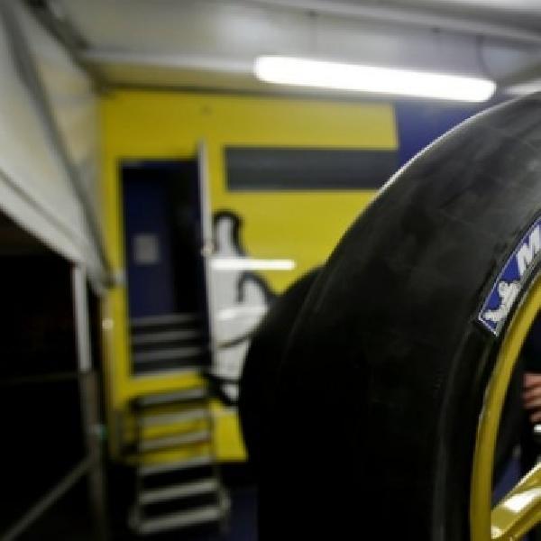 November mendatang Rossi dan Marquez uji ban balap Michelin